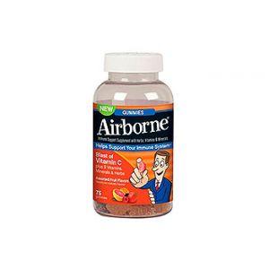 Airborne Gummies. Immune system support. 75 CT