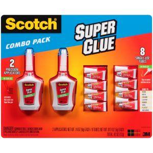 Scotch Super Glue Combo Pack
