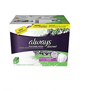 Always Discreet Underwear, Small/Medium - 76 Pack