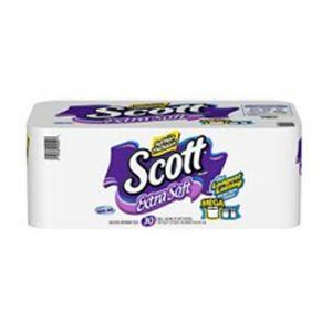 Scott Extra Soft Bath Tissue 30 Roll 400 Sheets