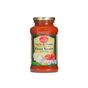 PROMOS SPAGUETTI SAUCE-GARLIC & ONION 12/24OZ