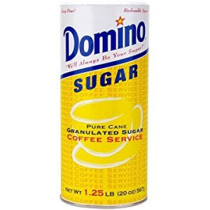 Domino Sugar Canisters 20 ounce - 24 Pack