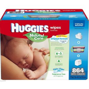 Huggies Natural Care Baby Wipes 864ct