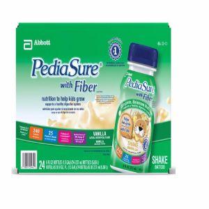 PediaSure Vanilla Shake with Fiber 8 oz - 24 Pack