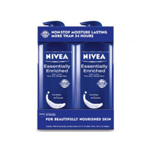 Nivea Essentially Enrich Lotion 16.9oz - 2 Pack