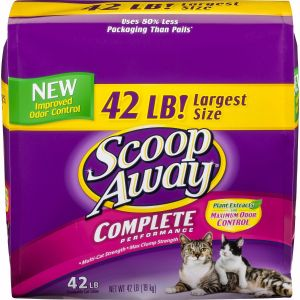Scoop Away Scoop Cat Litter 42 LBS