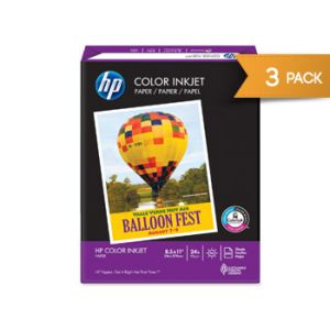Hp Color Inkjet 96bt 24lb Paper 1500ct 3pk