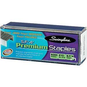 Swingline S.F. 4 Premium Staples, 1/4 - 5,000 Staples