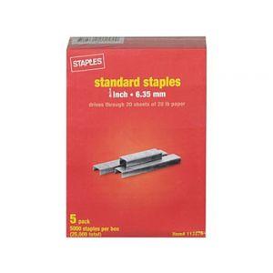 Standard Staples, 1/4