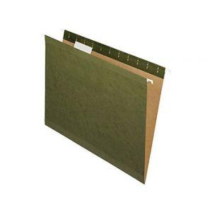 Pendaflex Reinforced Hanging File Folders, Letter, 5 Tab, 25/Box