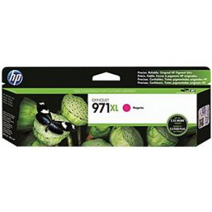 HP 971XL Officejet Pro X Magenta Ink Cartridge (CN627AM), High Yield