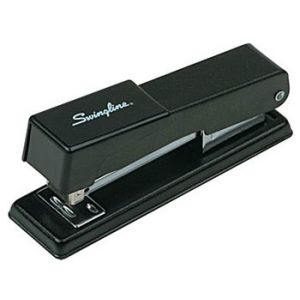 Swingline Compact Desk Stapler, Fastening Capacity 20/20 lb., Black