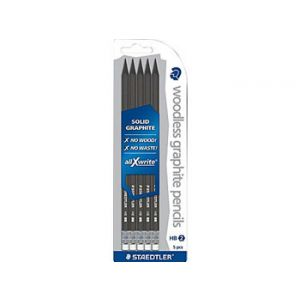 Staedtler allXWrite #2 HB Graphite Pencils - 5 Pack