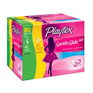 Playtex Tampons Gentle Glide 80ct