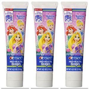 Crest Kids Princess Toothpaste 4.2oz - 4 Pack