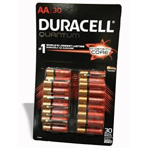 Duracell Quantum Alkaline Battery AA - 30 Pack