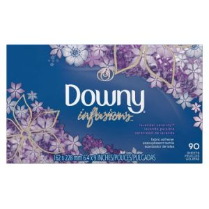 Downy Infusions Lavender Serenity Dryer Sheets - 90 Count