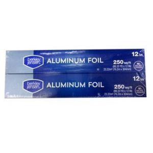 Berkley & Jensen Aluminum Foil 2 PK 12 Inch X 250 Foot