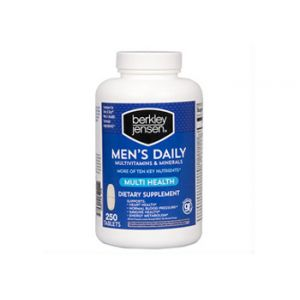 Berkley & Jensen Men's 250CT Multi-Vitamins