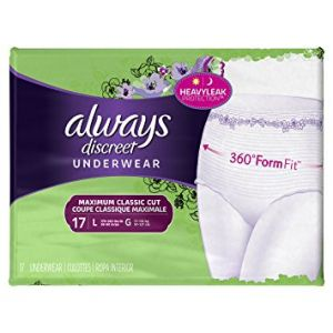 Always Discreet Womens Underwear Large - 68 Pack