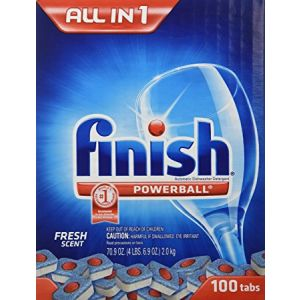Finish Powerball Dish Tabs 100 Count