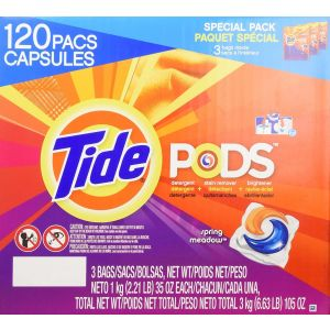 Tide Pods Laundry Detergent Spring Meadow - 120 Pacs