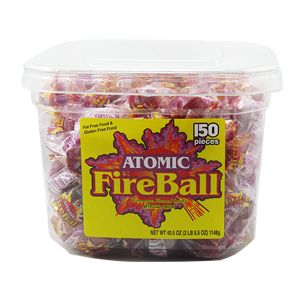 ATOMIC FIREBALL TUB. 4/150-CT.