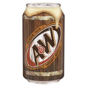 A&W Root Beer 12oz cans -  24 Pack