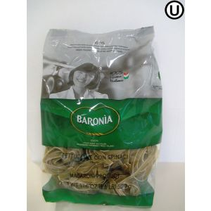 Baronia Fettuccine Spinach Nest  8x500Gr