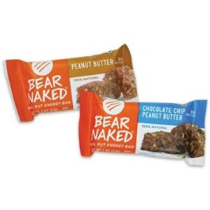 Bear Naked Chocolate Chip and Peanut Butter Bars - 24 Pack