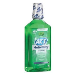 Act Anticavity Mouthwash Mint Flavored 33.8oz - 2 Pack