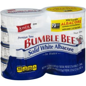 Bumble Bee Solid White Tuna 5 oz - 8 Pack