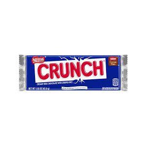 NESTLE CRUNCH SINGLE CHOCOLATE 10/36-CT/1.55 OZ