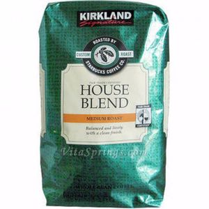 Kirkland Signature Starbucks House Blend 2 LB
