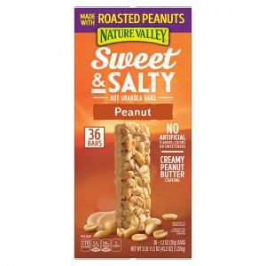 Nature Valley Sweet & Salty Nut Peanut - 48 Pack