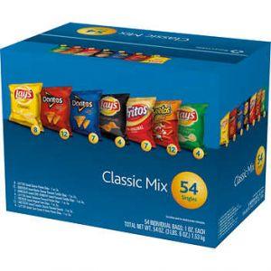 Frito Lay Variety Pack 1oz Bags - 54 Pack
