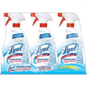 Lysol Power & Free Multipurpose Cleaner 32oz - 3 Pack