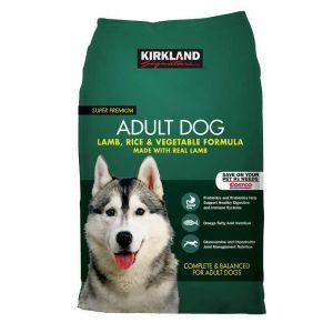 Kirkland Signature Lamb + Rice & Vegetables Adult Dog Food 40 LBS.