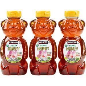 Kirkland Signature Organic Honey Bears 3/24 OZ
