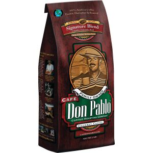 Cafe Don Pablo Signature Blend Coffee 2 LB