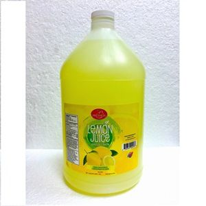 PROMO LEMON JUICE 4/1GAL