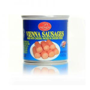 PROMOS,CHICKEN VIENNA SAUSAGE. 48/4.75OZ.   1000 cases $20.80