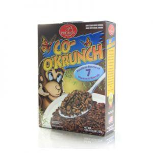PROMOS COCO KRUNCH CEREAL.( like Cocoa Pebbles.) 12/8oz.