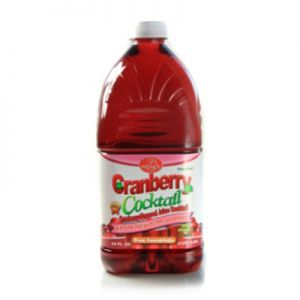 PROMOS, CRANBERRY JUICE. 8/64oz.