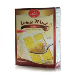 PROMOS DELUXE MOIST LEMON CAKE MIX 12/18.25 OZ