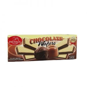 PROMOS FILLED WAFERS CHOCOLATE 30/4.94 OZ