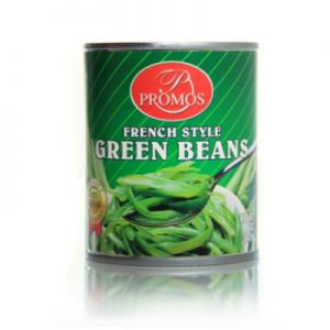 PROMOS, FRENCH STYLE GREEN BEANS. 12/8.5oz
