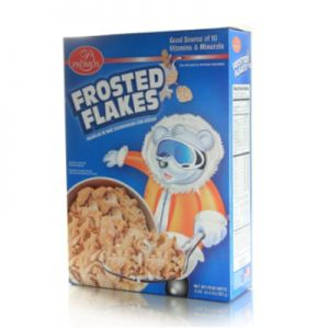 PROMOS FROSTED FLAKES. 12/8oz.