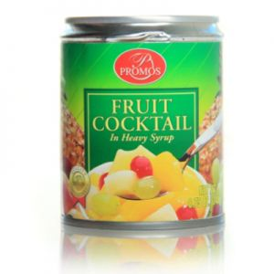 PROMOS FRUIT COCKTAIL HEAVY SYRUP PULL TOP 24/8.75 OZ