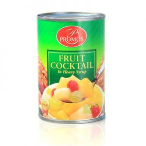 PROMOS FRUIT COCKTAIL IN HEAVY SYRUP 24/15.25 OZ.